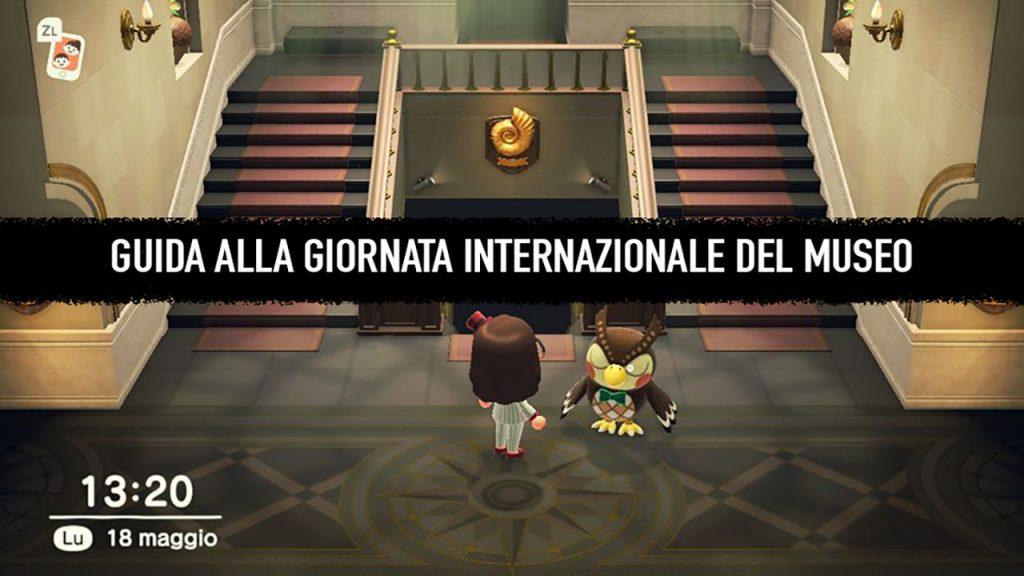 giornata del museo su Animal Crossing