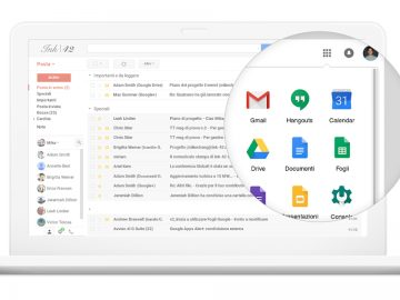 gmail chiamate g suite