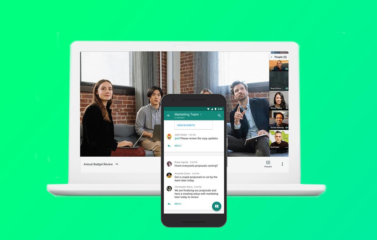 Con Google Chat potrai contattare anche utenti esterni thumbnail