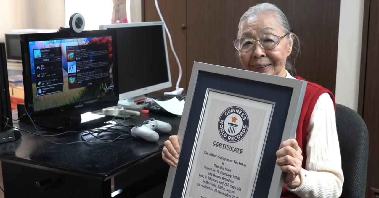 A 90 anni entra nel Guinnes World Records come la gamer più anziana su YouTube thumbnail