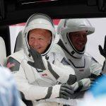 lancio SpaceX crew dragon astronauti NASA record visualizzazioni
