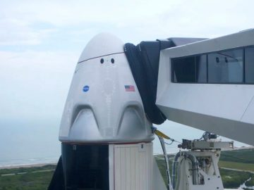 lancio SpaceX crew dragon rimandato