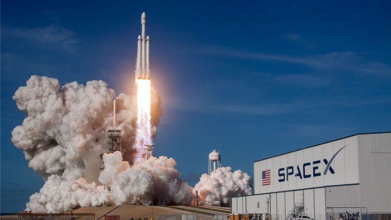 lancio di SpaceX Crew Dragon