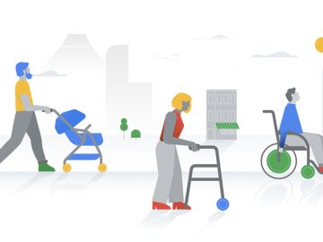 google maps accessibilità