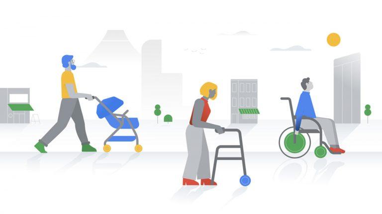 google maps accessibilità