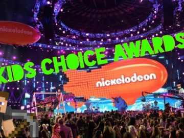 minecraft kids' choice awards