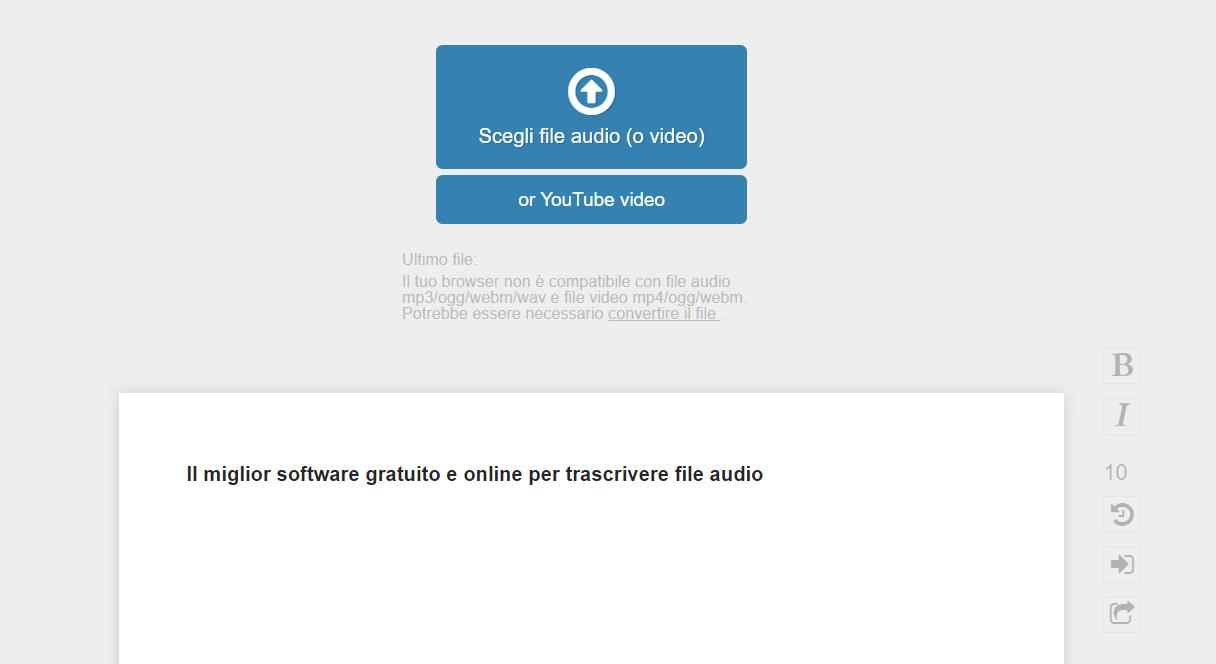 Il miglior software gratuito e online per trascrivere file audio thumbnail