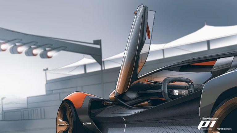 progettazione automobili ford realtà virtuale