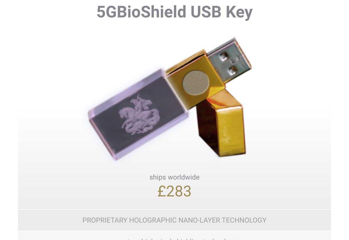 Dal Regno Unito arriva la chiavetta USB anti 5G thumbnail