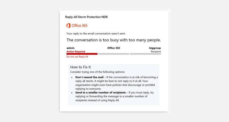 Microsoft ci proteggerà dalle e-mail di colleghi sbadati thumbnail