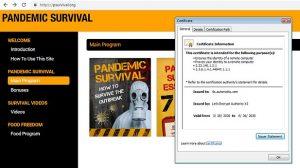 truffa online coronavirus avast