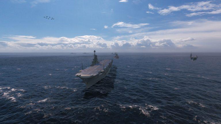 World of Warships parata navale