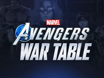 marvel avenger war table
