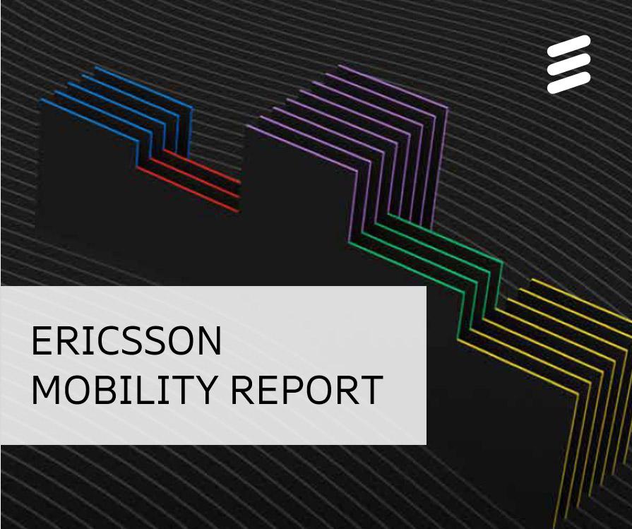 5g crescita mobility report ericsson