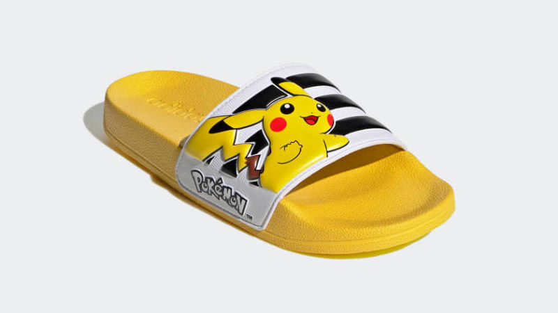 Adidas lancia un nuovo paio di ciabatte ispirate ai Pokémon thumbnail