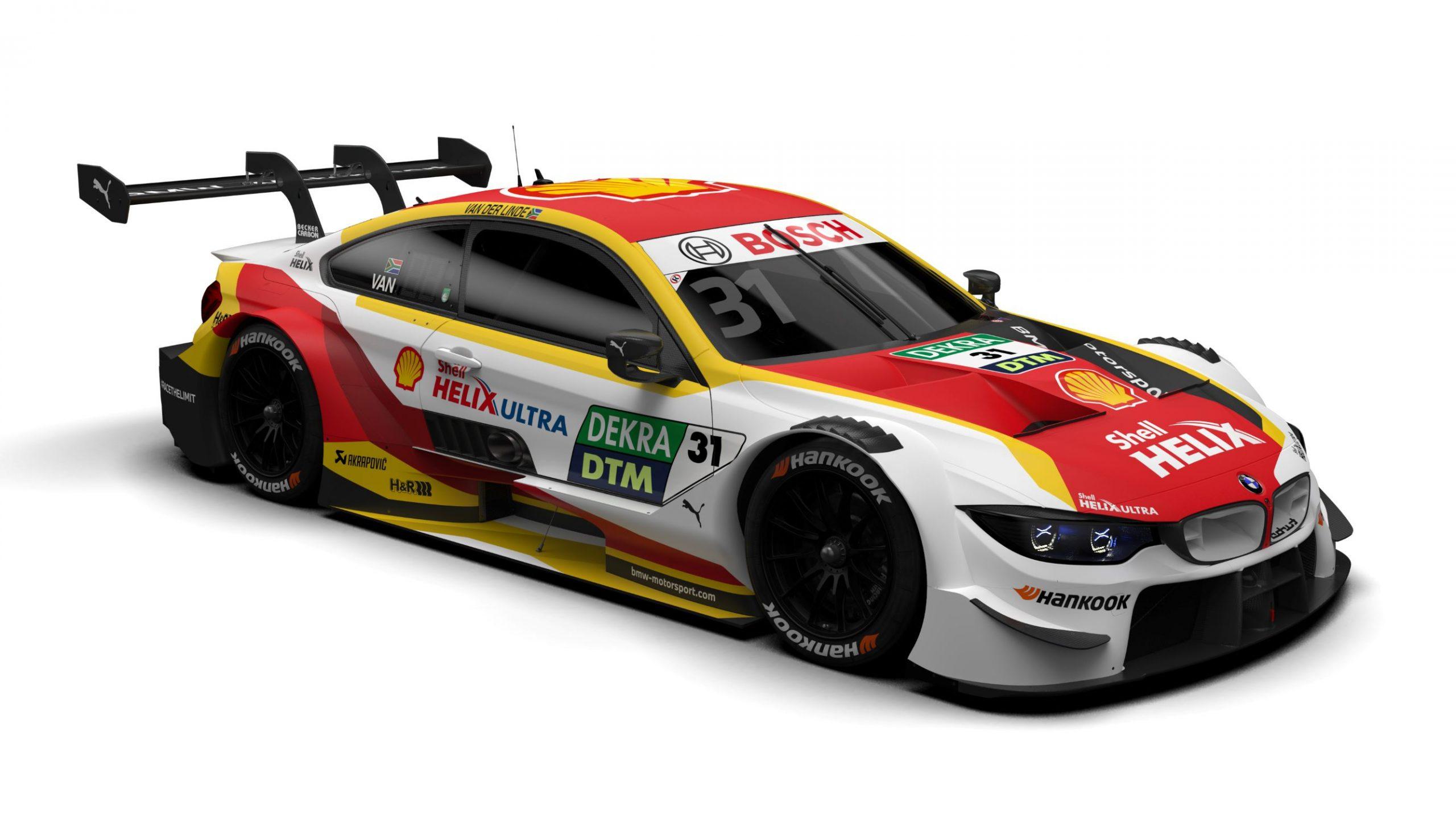BMW DTM Van Der Linde