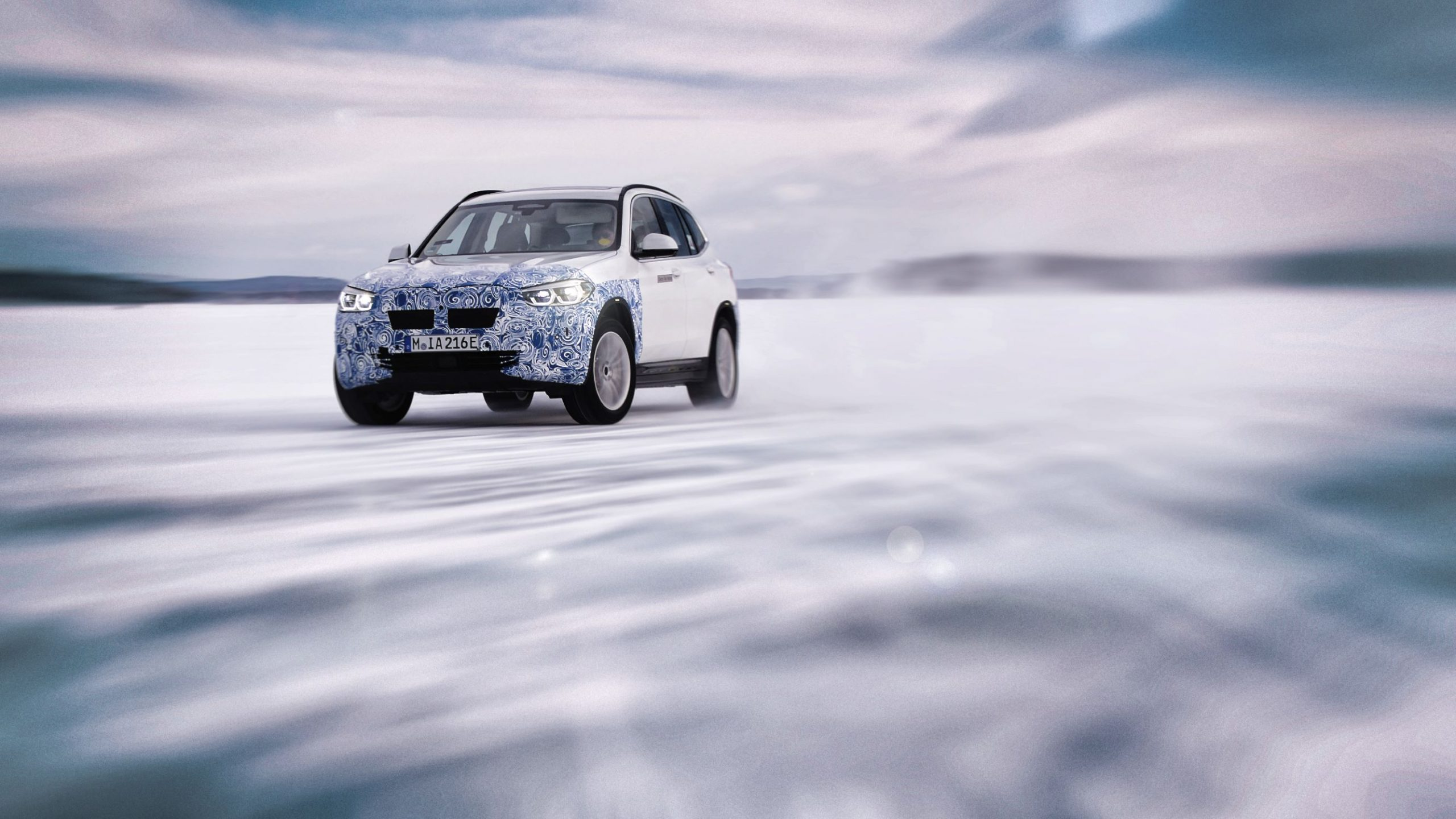 BMW iX3 drift