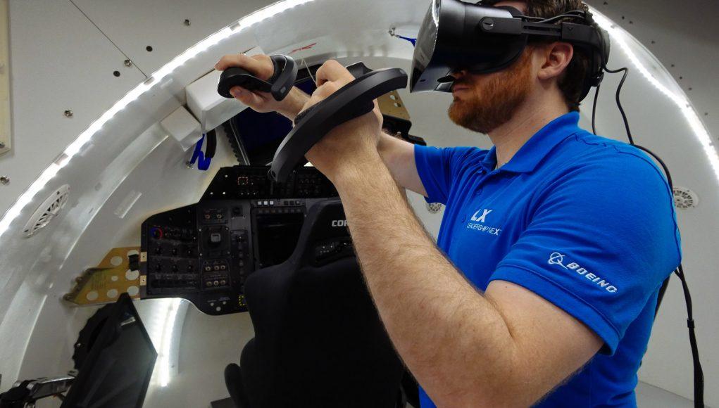 Boeing, nuovo simulatore VR per l'allenamento degli astronauti thumbnail