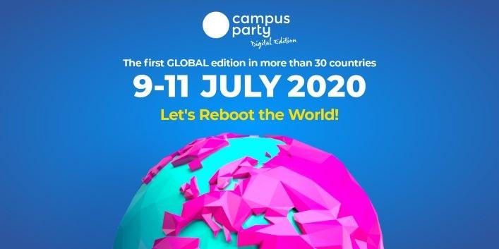 "Campus Party 2020 vuole ""riavviare"" il mondo thumbnail"