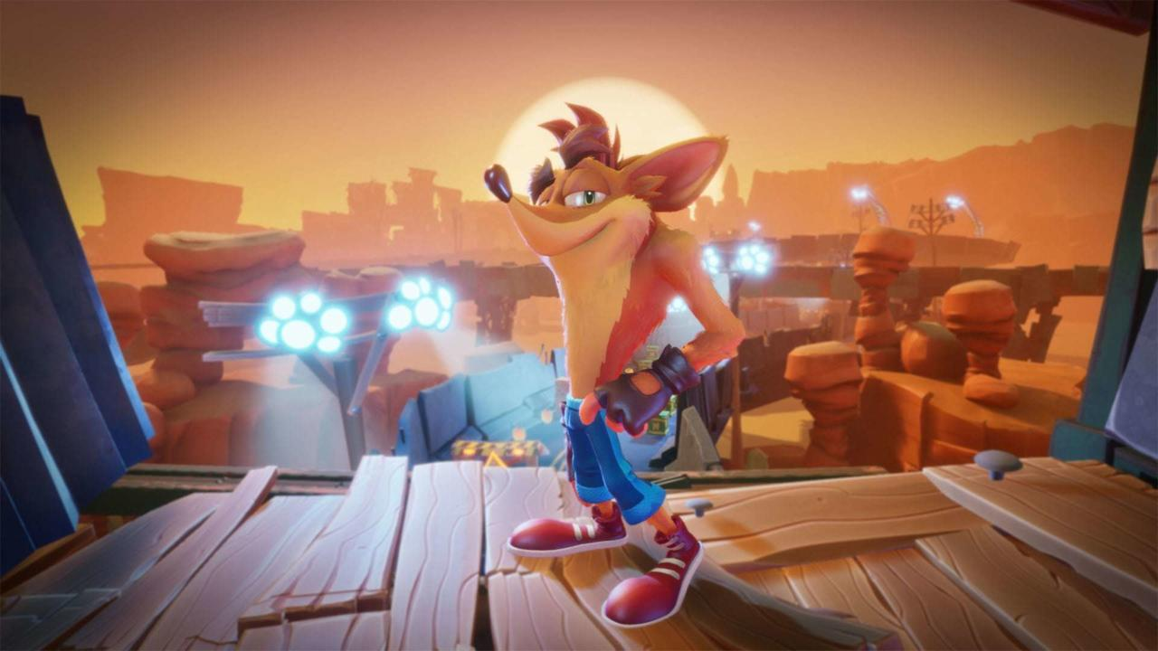 I produttori parlano del nuovo design di Crash Bandicoot 4 thumbnail
