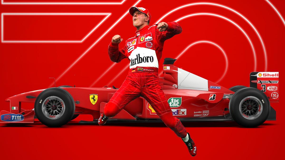 F1 2020 celebra il pilota più famoso con la Deluxe Schumacher Edition thumbnail