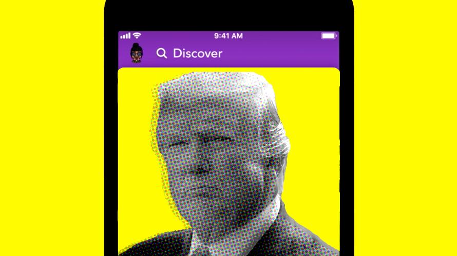 Snapchat: stop alla promozione dell'account di Donald Trump thumbnail