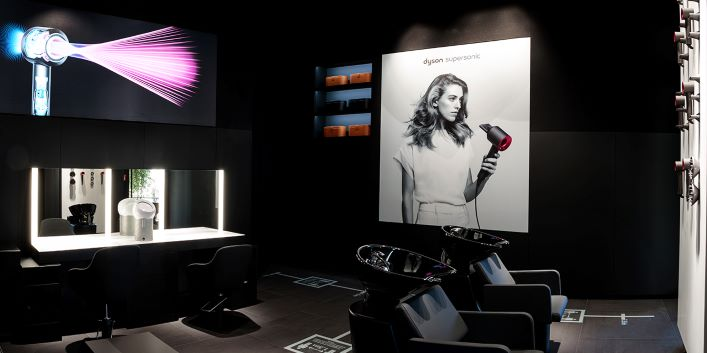 Dyson Demo Store Beauty Lab