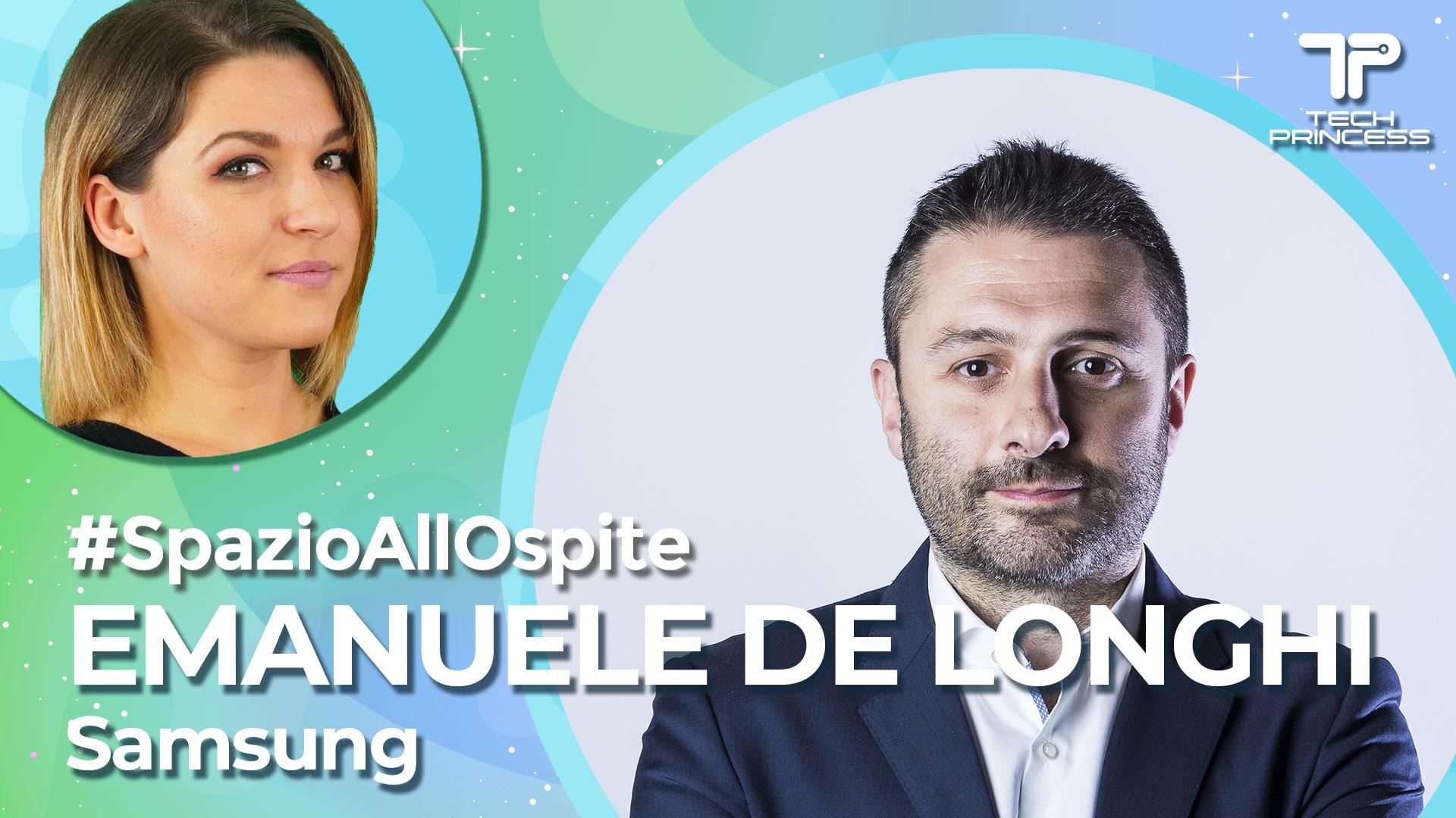 Emanuele De Longhi, Samsung: il futuro degli elettrodomestici connessi | Intervista in live #SpazioAllOspite thumbnail
