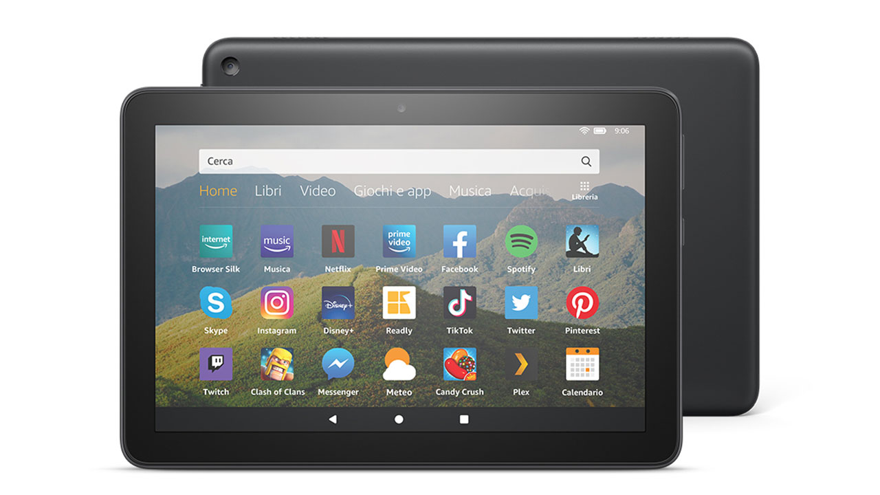 Fire HD 8 recensione tablet