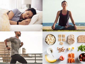Fitbit sonno, stress, sport e alimentazione