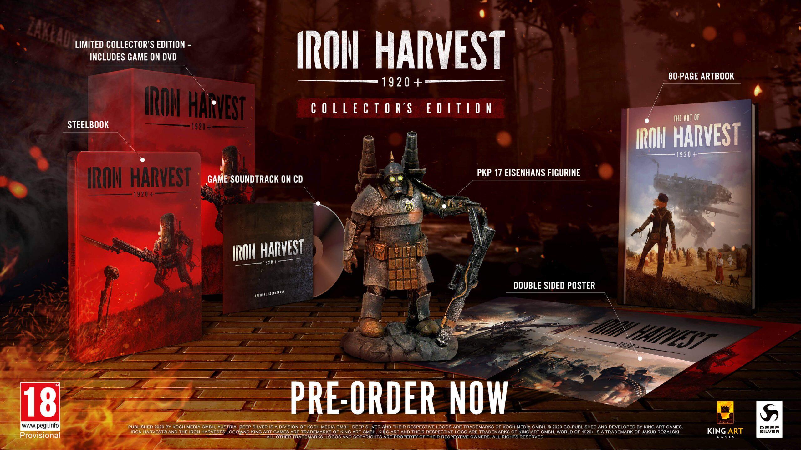 Svelati un nuovo trailer e la Collector's Edition di Iron Harvest thumbnail