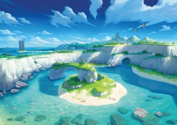 Isola solitaria armatura pokémon spada scudo