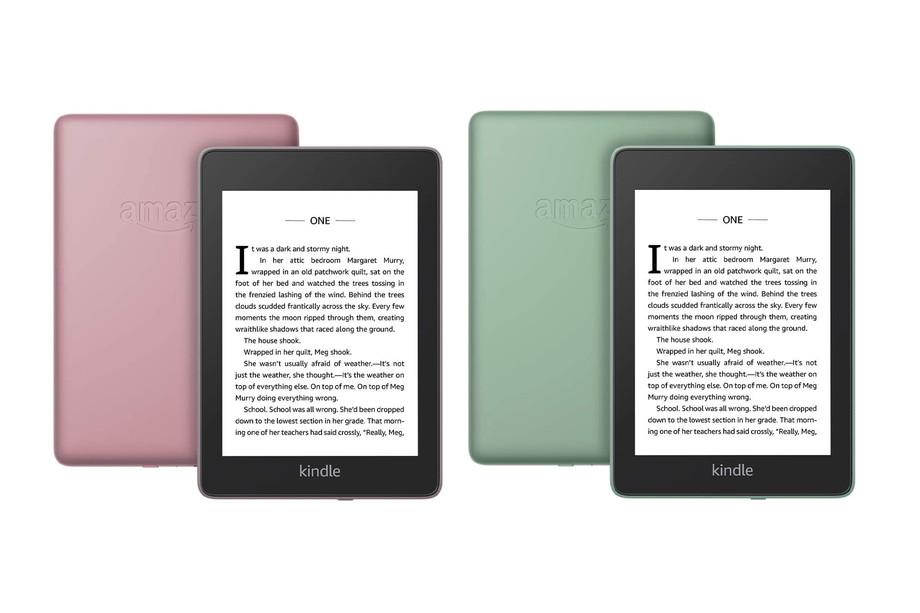 Kindle Paperwhite: Amazon presenta due nuovi colori thumbnail