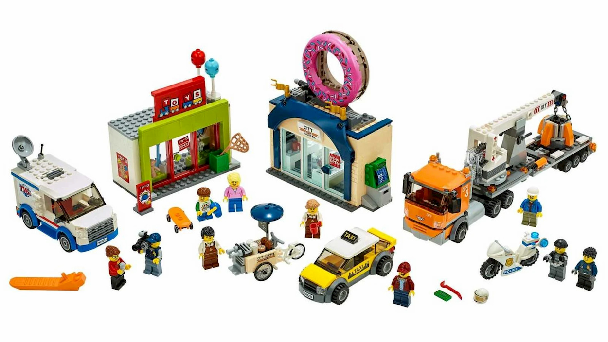 LEGO limita la promozione dei set riguardanti le forze dell'ordine thumbnail