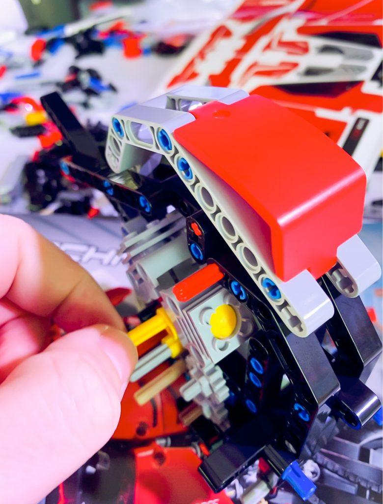 Lego Ducati Panigale V4R Pistoni
