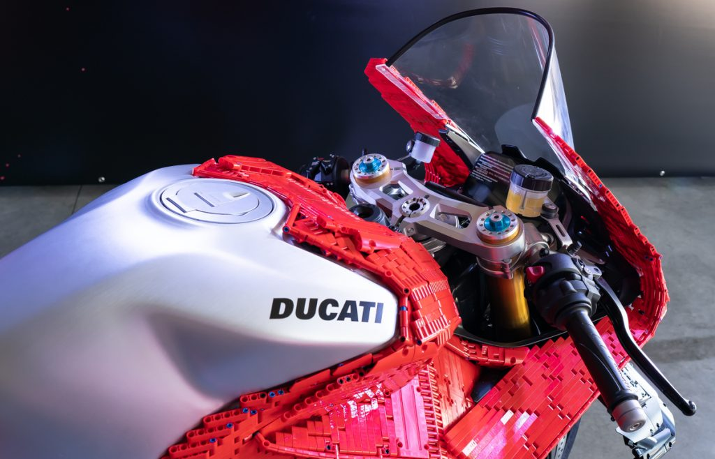 Lego Ducati Panigale V4R Cupolino