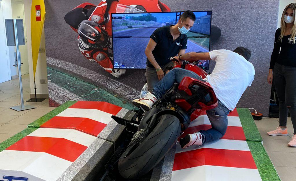 Lego Ducati Panigale V4R Simulatore Posteriore