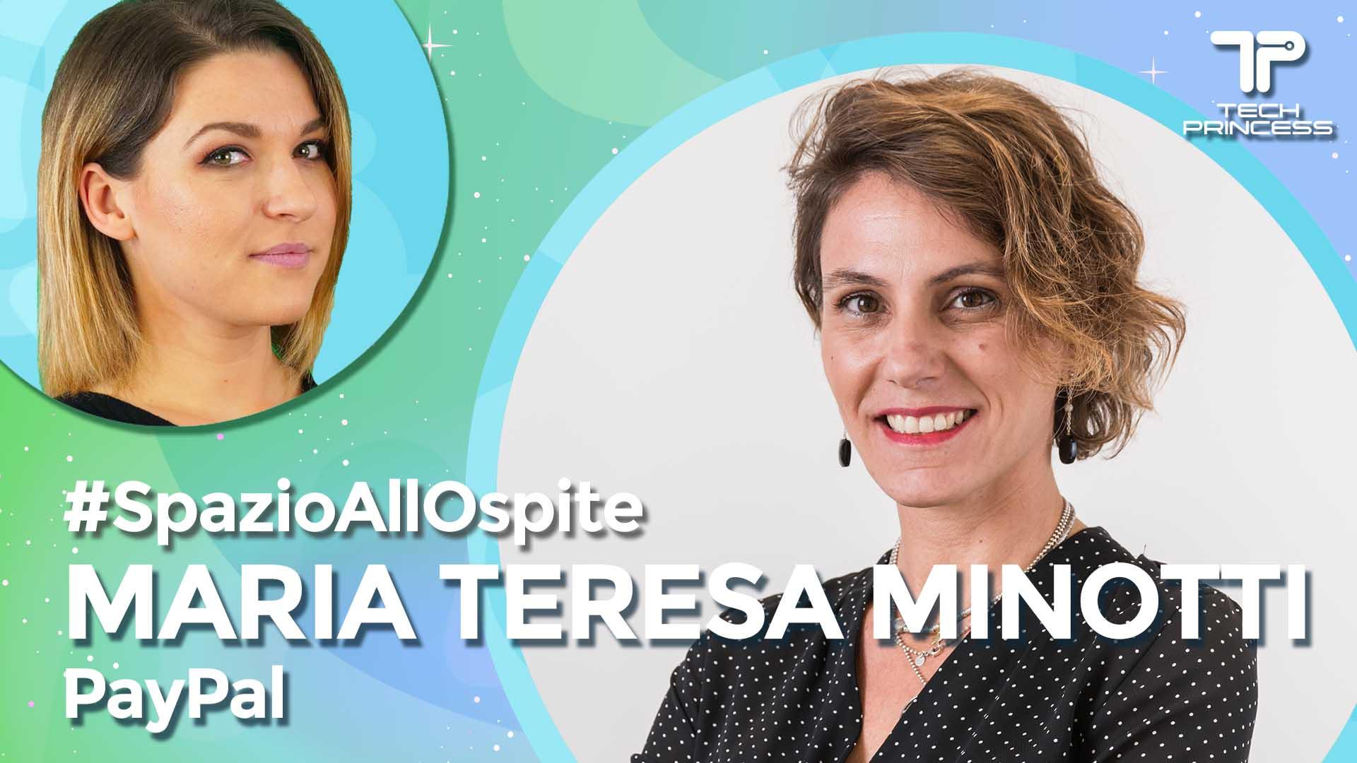 Maria Teresa Minotti, Paypal: il futuro dei pagamenti digitali | Intervista in live #SpazioAllOspite thumbnail