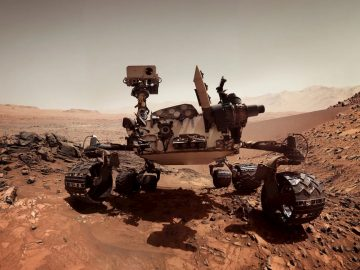 NASA Marte AI curiosity