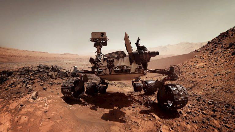 NASA Marte AI curiosity viaggio