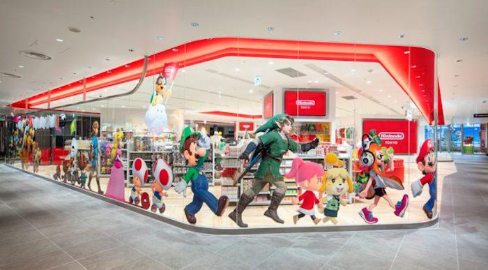 Nintendo, il negozio di Tokyo comincia a vendere i suoi articoli online thumbnail