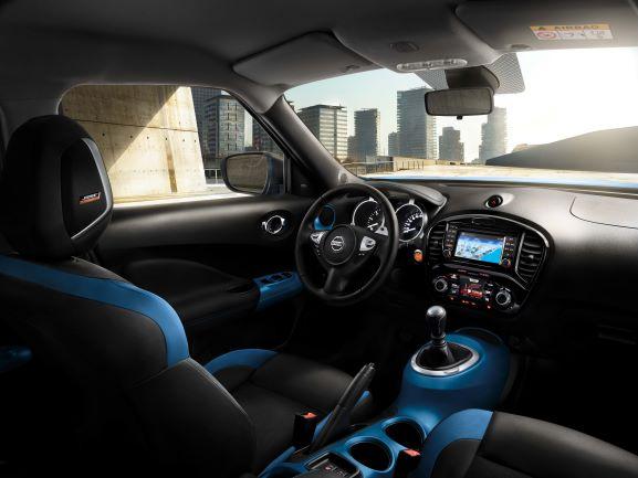 Nissan Juke Bose interni