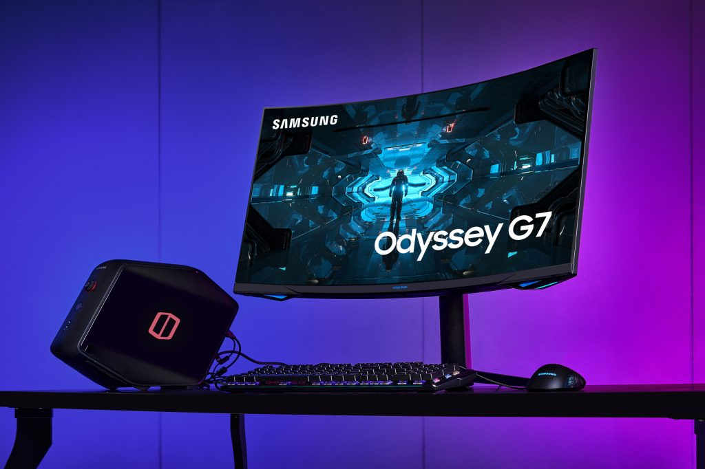 Samsung Odyssey G7, monitor gaming dalle curve aggressive thumbnail