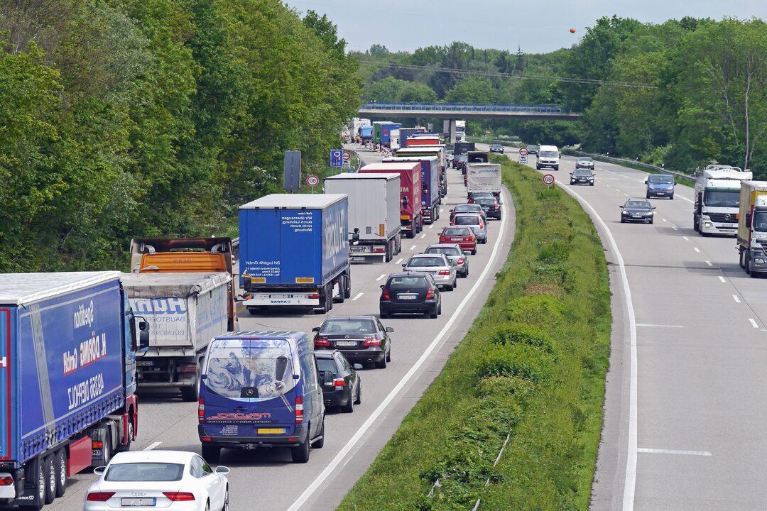 Spostamenti tra regioni traffico
