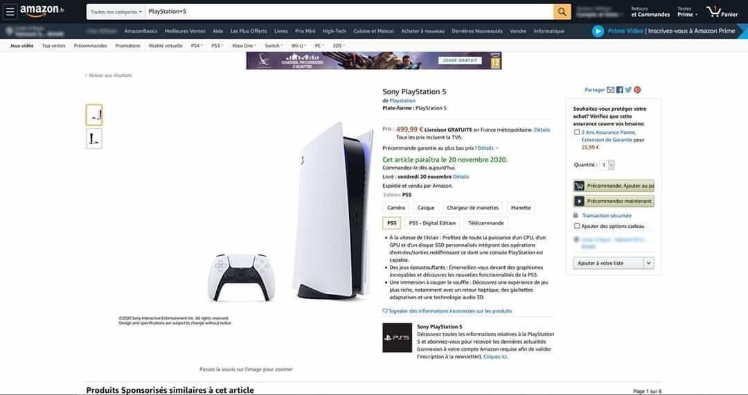PlayStation 5 uscita prezzo
