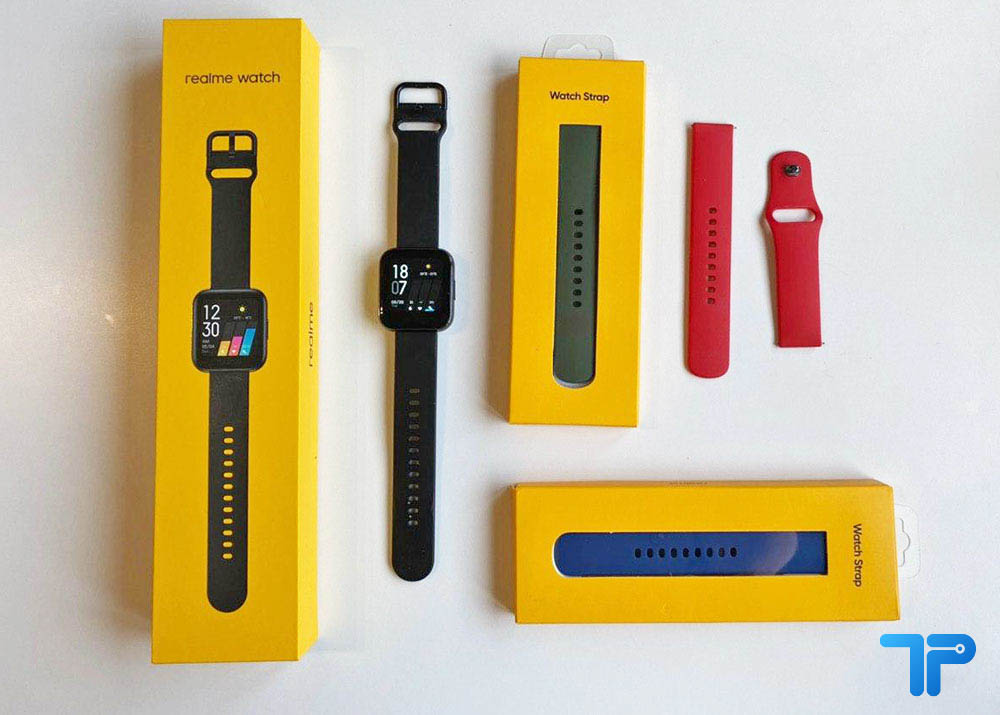 Realme Watch recensione design