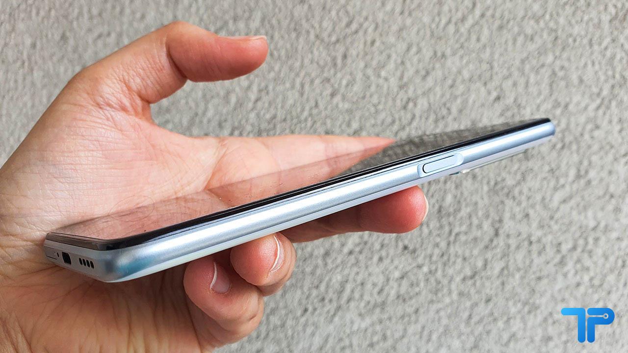 Realme X3 SuperZoom recensione lettore impronte