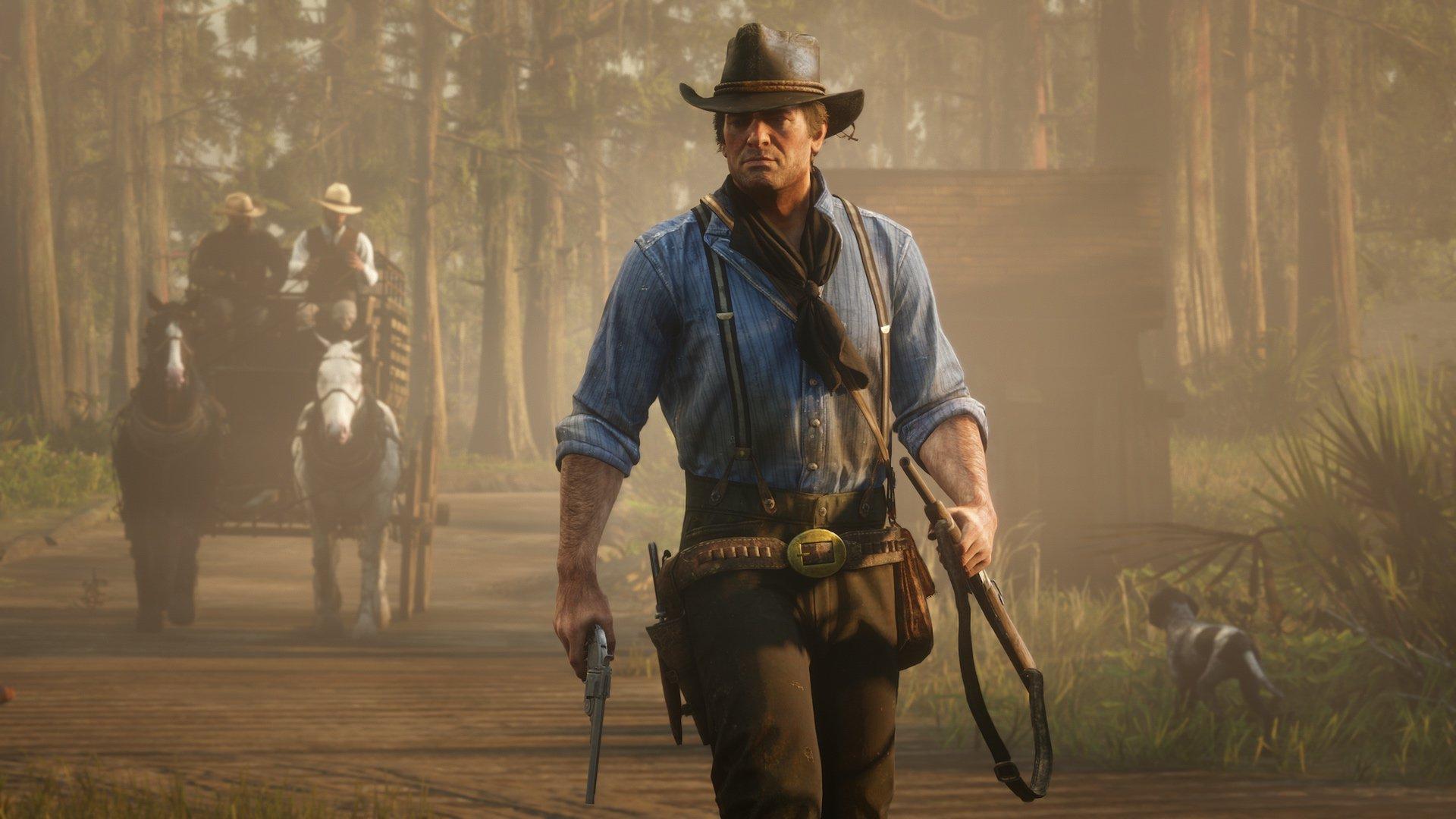 Una mod di Red Dead Redemption 2 trasforma Arthur Morgan thumbnail