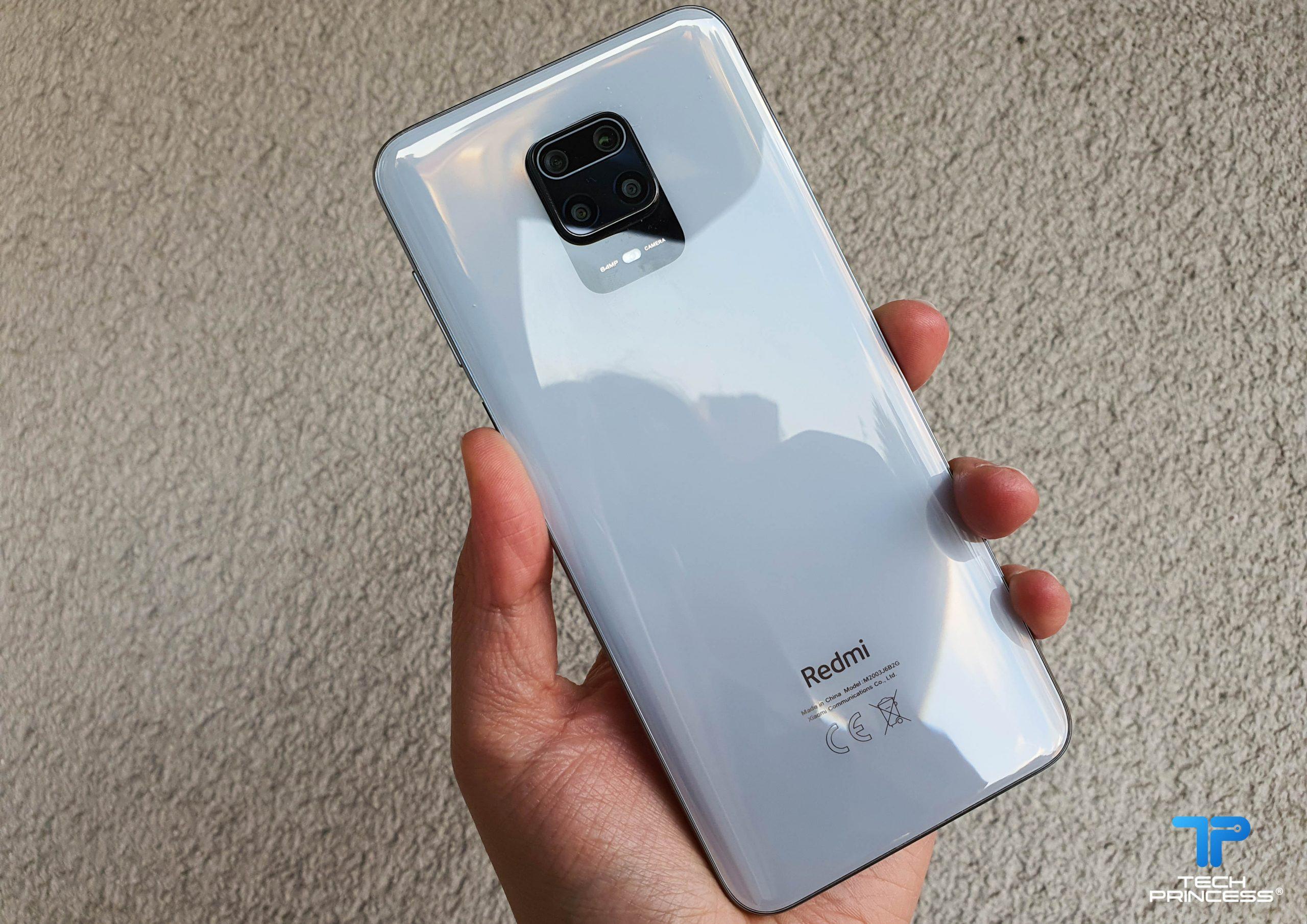 Redmi Note 9 Pro recensione design