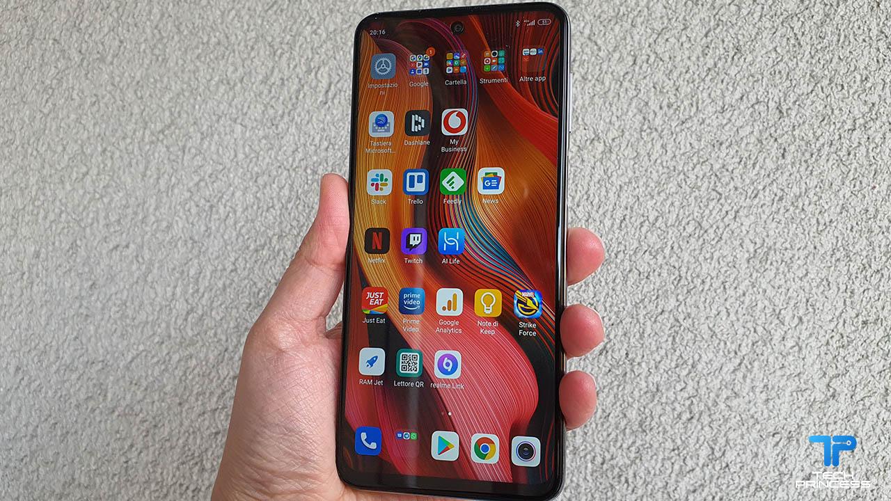 Redmi Note 9 Pro recensione display